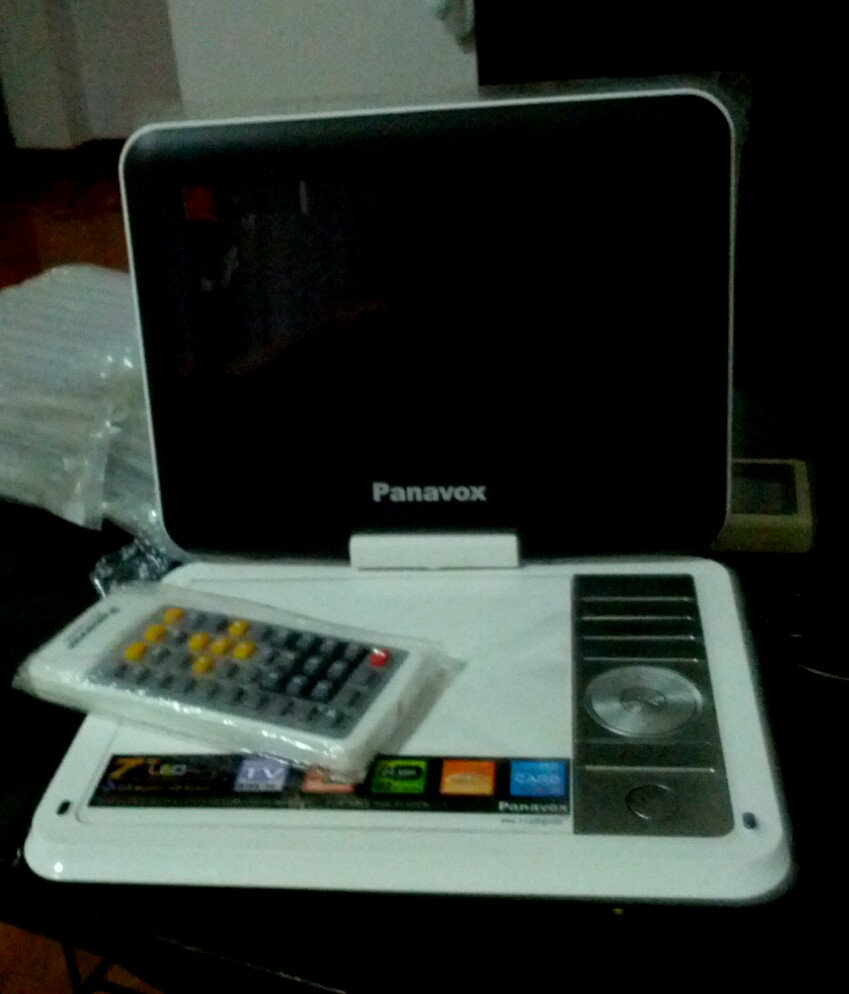 TV พกพา Panavox by Aconatic จอ 7""